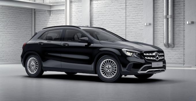 Pluie d'étoiles pour la Mercedes GLA 220d 4MATIC ?