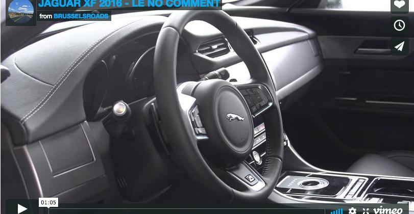 Jaguar XF 2016 – le No-Comment