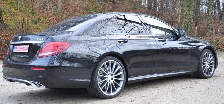 Mercedes Classe E : la berline la plus intelligente du monde ?