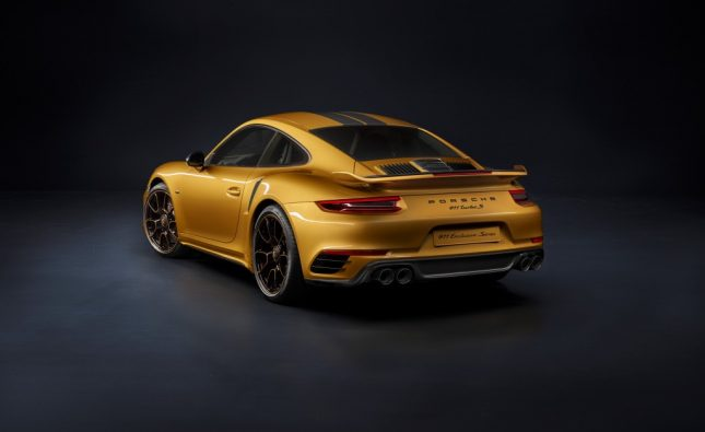 500 exemplaires uniques pour la 911 de Porsche !