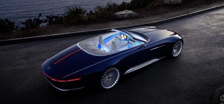 Vision Mercedes-Maybach 6 Cabrio : qui dit mieux ?
