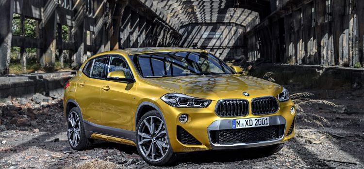 La nouvelle BMW X2 se dévoile ! elle a été aperçue à Milan.