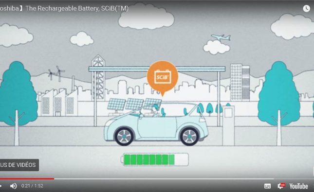 Toshiba batterie SCiB