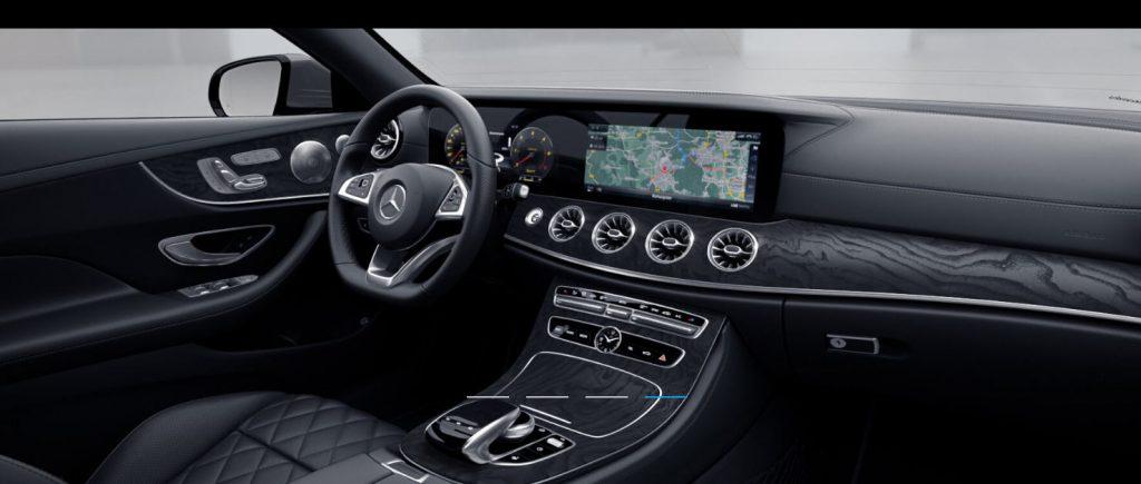 Mercedes Classe E Coupé - intérieur