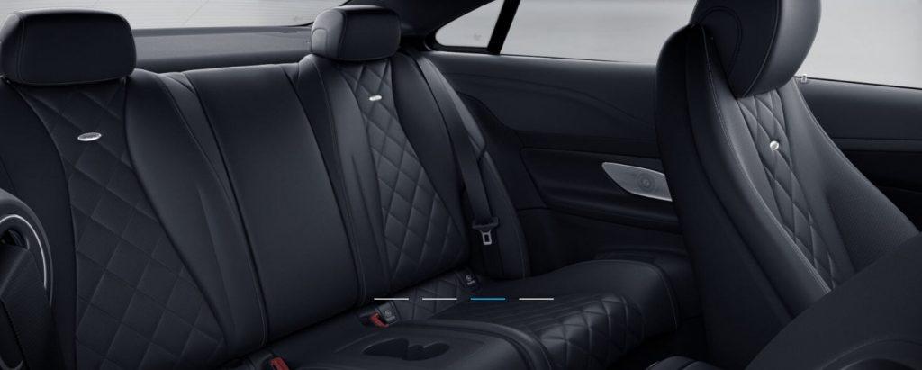 Mercedes Classe E Coupé - Bel espace aux places arrière