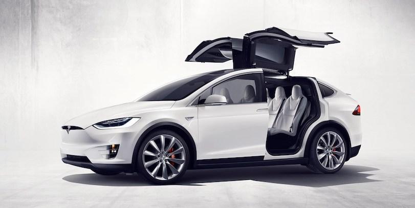 New Tesla Model X : le No-Comment