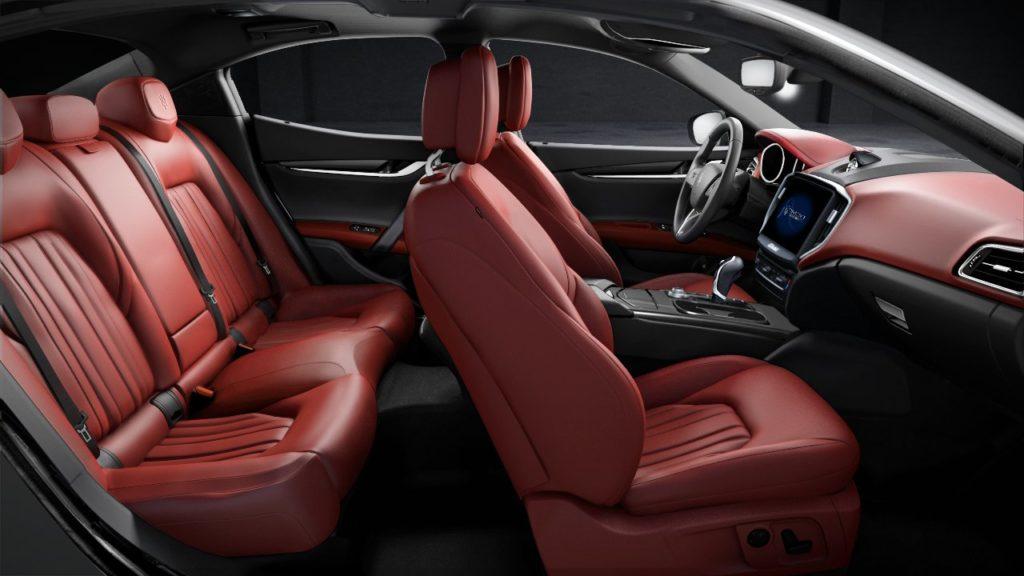 Maserati Ghibli diesel - Intérieur
