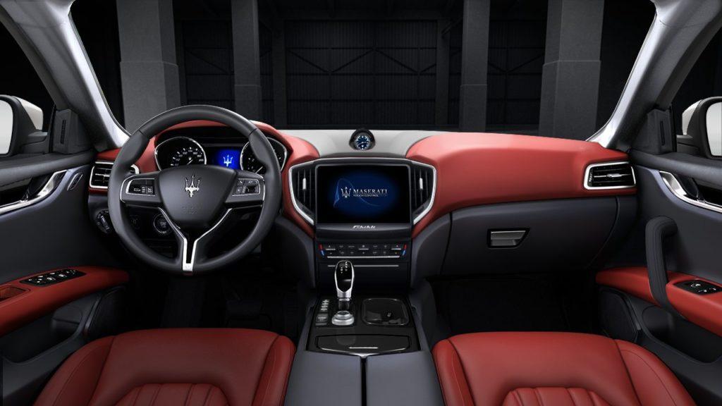 Maserati Ghibli diesel - Tableau de bord