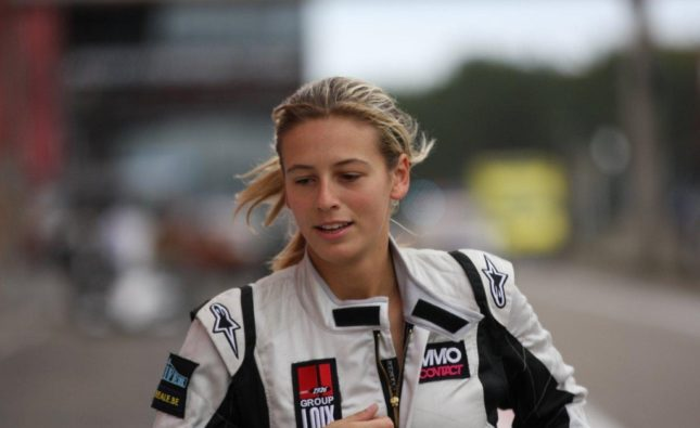Sarah Bovy - Pilote de course