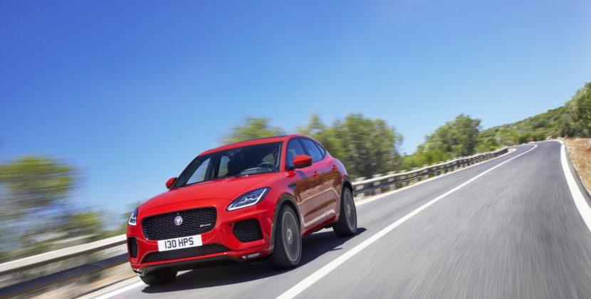 JAGUAR E-PACE : le premier SUV compact de Jaguar et rein de plus