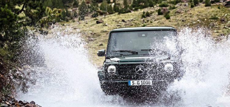 Mercedes G500 émet une mise à jour après 38 ans de règne