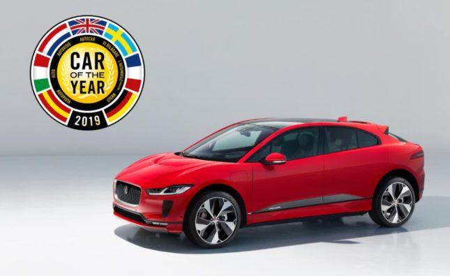 """La Jaguar I-Pace élue """" Voiture de l'année 2019 """" à Genève"""