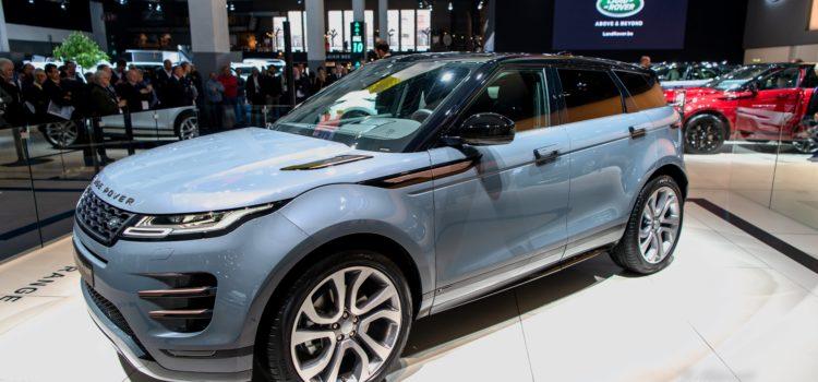 Range Rover Evoque, la nouveauté pas à pas
