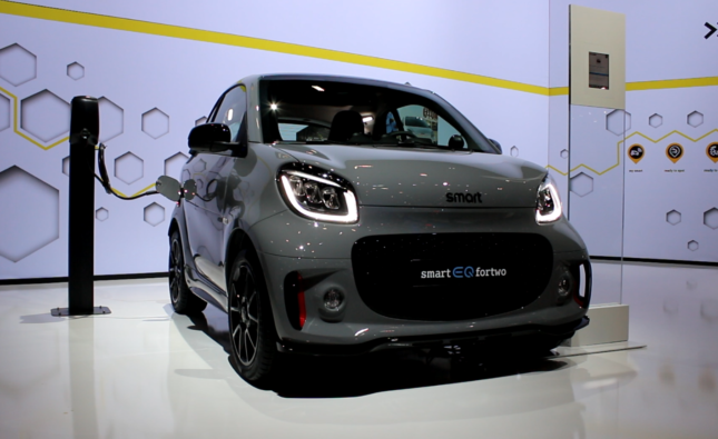 SMART au Salon de l'Automobile 2020 de Bruxelles