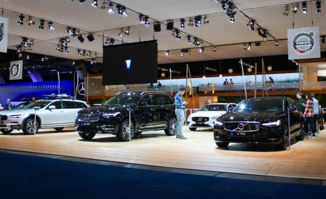 Volvo Stand Salon Bxl 2020